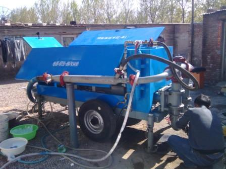 Installation and commissioning of cement foam machine in Beijing