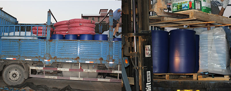 Jiade foam concrete equipment and foaming agent sent to Malaysia